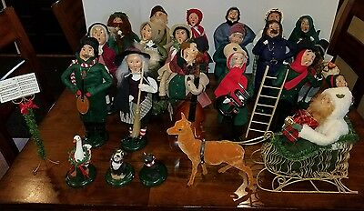 """Byers Choice """"The Carolers"""" 1988 - 2006 (23) assorted carolers lot"""