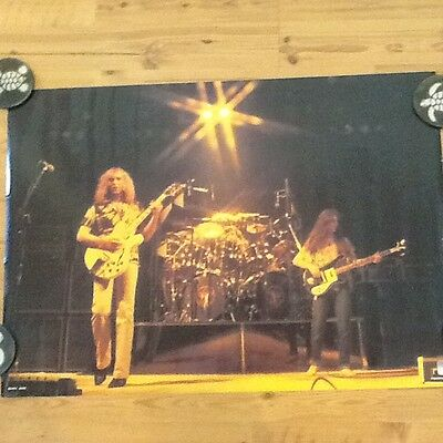 RUSH Poster VERY RARE! 1979 Vintage ORIGINAL IMPORT!(Holland only)VERY NICE!!