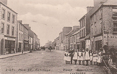 lot 10,postcard unused,2167-main st.kiltimagh co,mayo.wynne publisher loughrea.