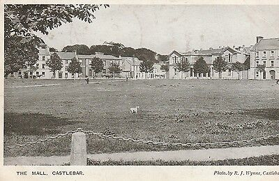 LOT PC 91  THE MALL CASTLEBAR COUNTY MAYO a vintage postcard