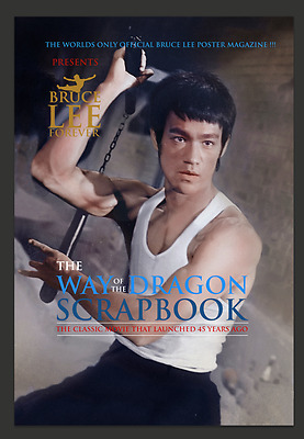 """Pre Order The Very Limited Edition Bruce Lee Forever """"Way If The Dragon"""" Scrapbo"""
