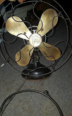 beautiful robbins myers co brass blade fan 13 inch diameter