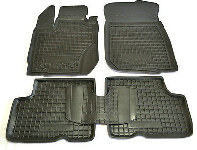 Rubber Carmats for Dacia Duster 2015 2016 2017 Renault All Weather Floor Mats