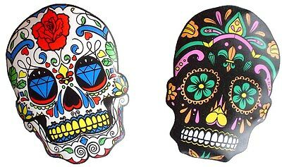 REUSABLE SUGAR SKULL POCKET HAND WARMERS - 2 per pack (Instant Heat on the go..)