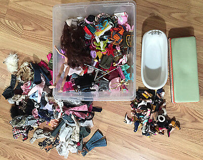 Bratz Doll Accessories, Furniture, Shoes/feet, Clothes, Pre Owned