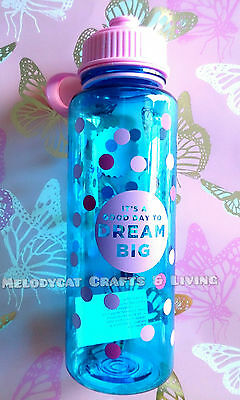 Typo Girl Lady's Drink Bottle Water Bottle 700ml - Good Day, Dream Big