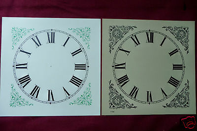 Three Only Card Stock OG Clock Dials - Antique Part
