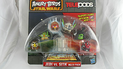 Angry Birds, Telepods,  Jedi Vs. Sith , Package Variation, Rare, Star Wars