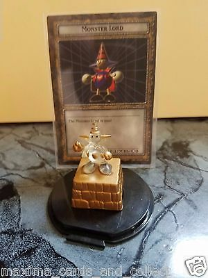 Dungeon Dice Monster * Clear Monster Lord 1/1000  & Card W/ Case * New * Le