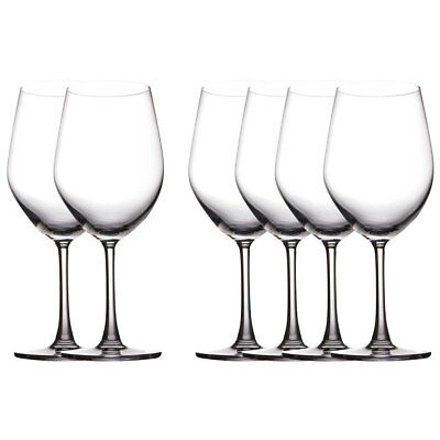 6pc Set Maxwell & Williams Cosmopolitan Bordeaux/Red Wine Glasses 590ML Bar