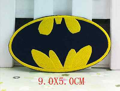DIY Batman Hero Embroidered Patch - Hot Iron-on Transfer Sew On