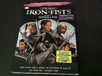 The Man With The Iron Fists ( Dvd )  Quentin Tarantino