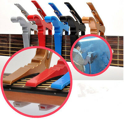Folk Acoustic Electric Tune Quick Change Trigger Guitar Capo Key Clamp Popularlj