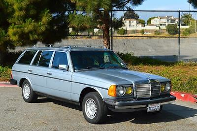 1983 Mercedes-Benz 300-Series 5 door 7 seater wagon 1983 Mercedes 300TD turbo diesel wagon 3rd seat only 188k miles gorgeous