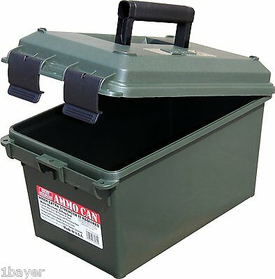 MTM Molded Hunting Fishing RV Camper Storage Gear Ammo Organizer Can Box