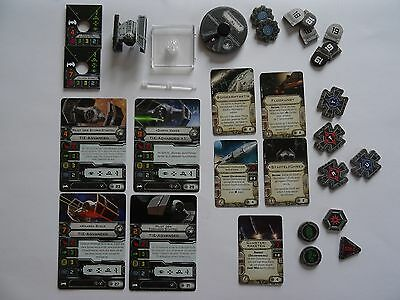 "Star Wars X-Wing ""Tie Advanced"" (FFG, Heidelberger) dt."