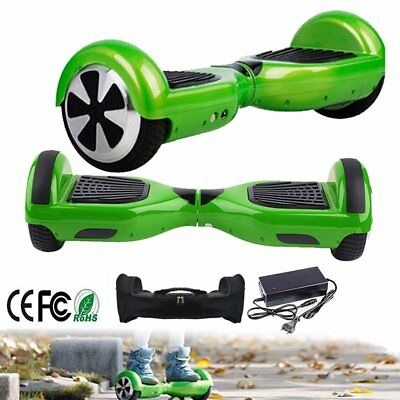 "Dos Ruedas Patinete Electrico Scooter 100kg 10km/h Self-Balancing 6,5"" PATIN LED"