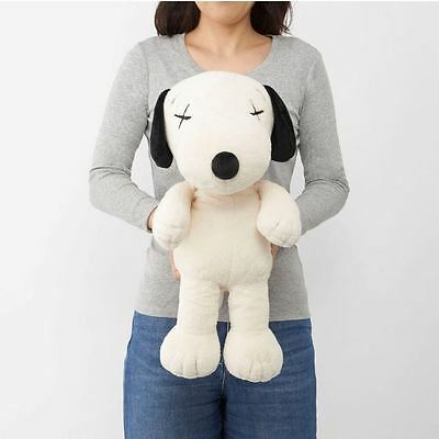 NEW!! KAWS PEANUTS Snoopy Plush Toy Large Uniqlo Free Shipping From Japan