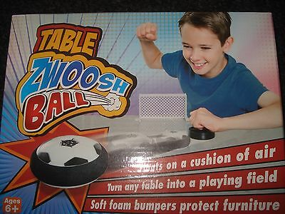 JML Table Zwoosh Ball Fun Air Hockey Table Game with Air Padding Cushion Ball