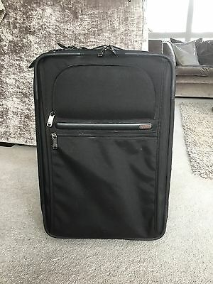 Tumi Black Cabin Bag Suitcase Luggage