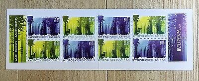 "Cyprus - Europa 2011 - ""Forests"" Booklet (SB14). MNH."