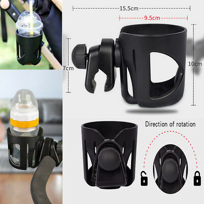 Baby Stroller Pram Cup Holder Universal Bottle Drink Water Coffee Bike Bag PQ