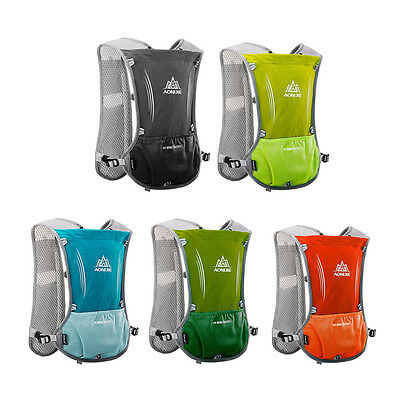 Water Hydration Backpack Bladder Bag Pack Lightweight For Runing Cycling Sports