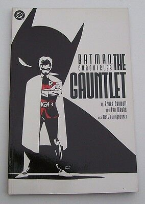 Batman Chronicles The Gauntlet Dc Comics 1997 Canwell & Weeks - First Printing