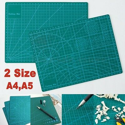 A4 A5 PVC Self Healing Cutting Mat Craft Quilting Grid Lines Printed Board