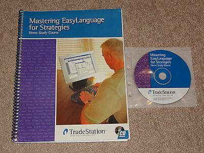TradeStation Mastering EasyLanguage for Strategies Home Study Course options qqq