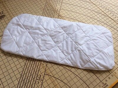 Baby Jogger Deluxe bassinet Waterproof Quilted Mattress Protector