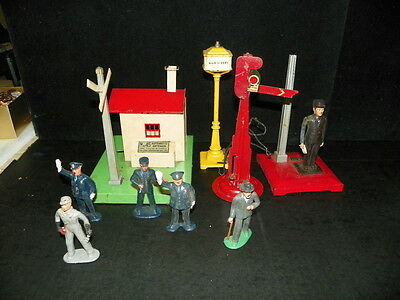 Bulding Plus LOT OF PEOPLE PEWTER METAL FIGURE O / S SCALE TRAIN LAYOUT