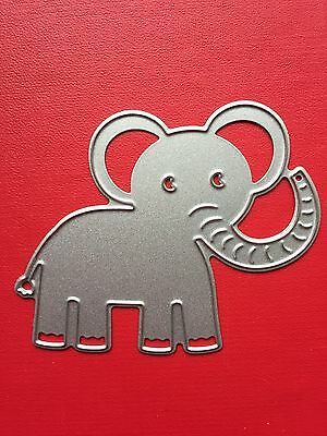 NEW• BABY ELEPHANT Die For Cuttlebug Or Sizzix