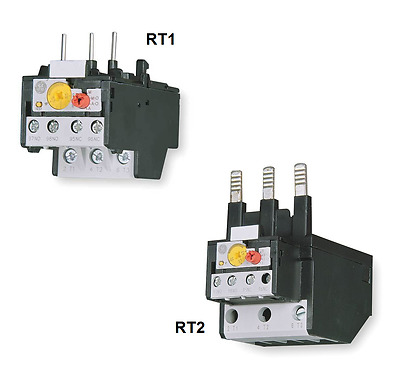 GE Thermal Overload Relay RT1 RT2 Plug-in Various Amperages 0.65A up to 65A