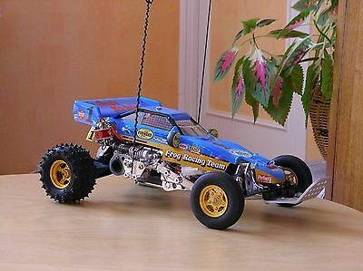 Buggy Tamiya The Frog 1/10 RC collector RARE with Chrome parts & Alloy parts