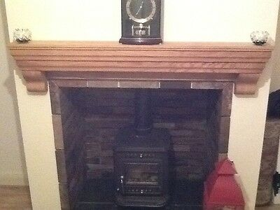 Solid Oak Fireplace Mantel Lintel Shelf - Premium quality - made to measure!!!