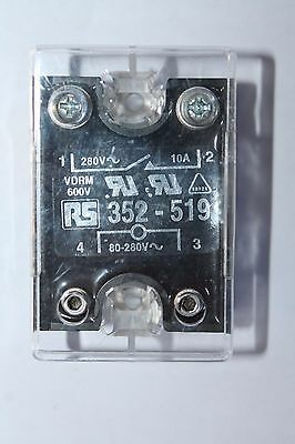 Crydom 10 A rms Solid State Relay, Zero Cross, Surface Mount SCR, 280 V rms Maxi