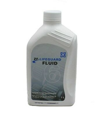 ZF Lifeguard 6 Transmission Fluid. 1 Litre. Land Rover, BMW, Jag, Shell M-1375.4