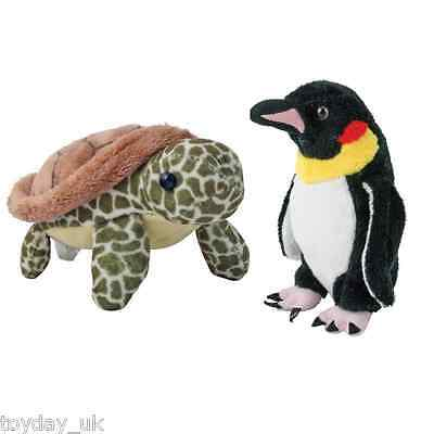 Plush Magnetic Penguin or Turtle - Soft Toys with magnets in there hands