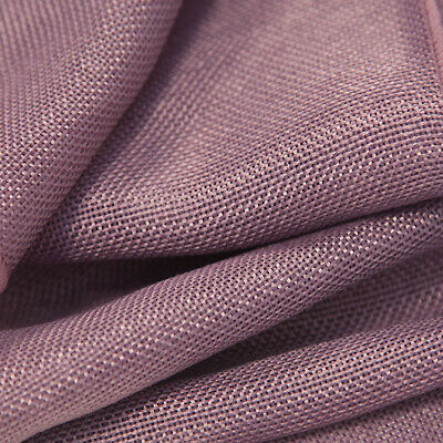 Linen Fabric Sold Per Meter 1.5M Wide 10 Colours Wedding Drapping Swagging Decor