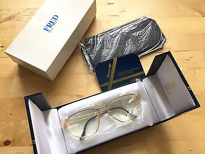 Lunette Monture FRED Paris Modèle Alizé Ecrin + documents frame eyeglasses