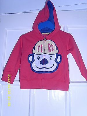 Boys Marks And Spencers Hoodie Aged 12-18 Months