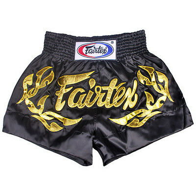 Fairtex Muay Thai Kick Boxing Shorts Eternal Gold Bs0646 S, M, L, Xl Aus Stock