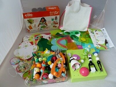 Ello Creation System - Large Bundle Including On The Go Surf, Bag, Bases, Access