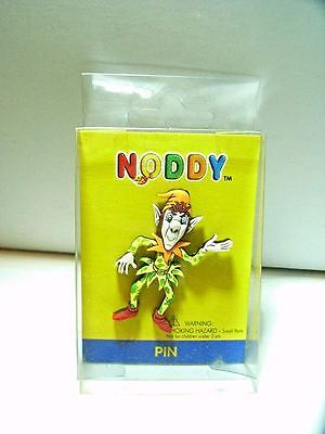 Noddy Soft Plastic Pin Brooch for School Bag or T Shirt Collection FC