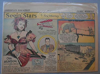Seein' Stars: Ona Munson, Gone With The Wind, George Raft from 10/1/1939