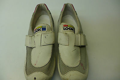 Radschuhe Bike Shoes Vintage 1988 Look Gr. 6,5