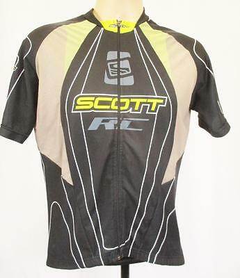 L - Mens Cycling Jersey Scott RC Black Racing Team Top - I109