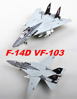 Easy Model 1/72 US Grumman F-14D VF-103 Tomcat JOLLY ROGERS Plast Fighter #37193