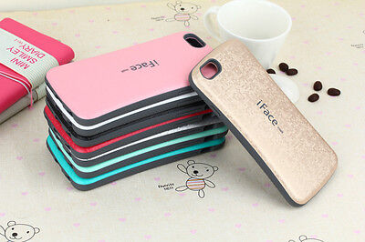 iFace Mall Heavy Shockproof Mosaic Soft Back Case For iPhone 5s 6 6S 7 8 Plus
